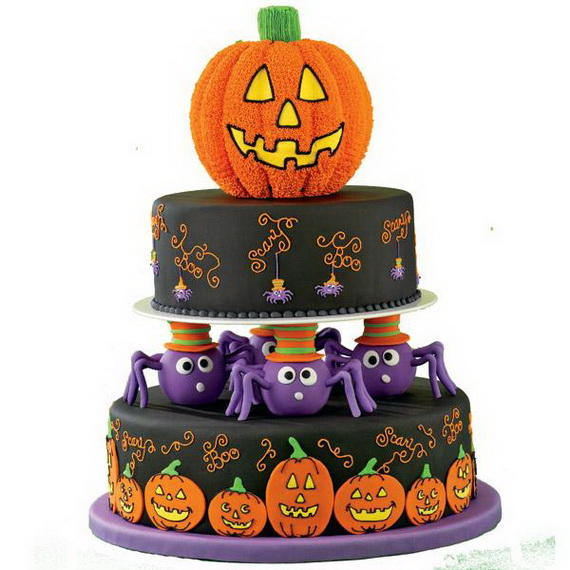 Halloween Inspired Cakes and Decorating Ideas From Wilton_86