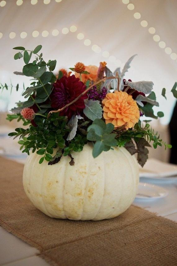 Halloween Wedding Centerpiece Ideas _11