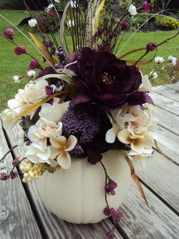 Halloween Wedding Centerpiece Ideas _24