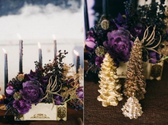 Halloween Wedding Centerpiece Ideas _29