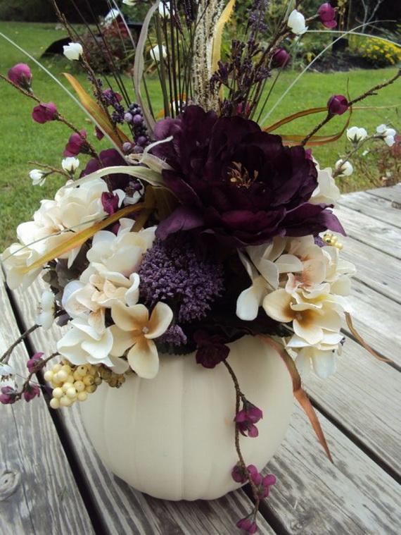 Halloween Wedding Centerpiece Ideas _39