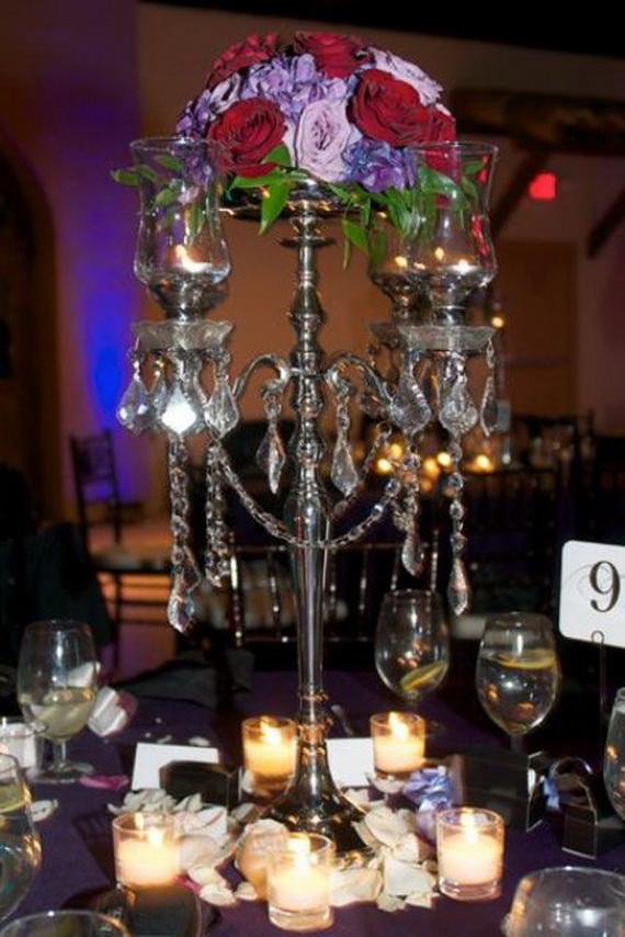 Halloween Wedding Centerpiece Ideas _40