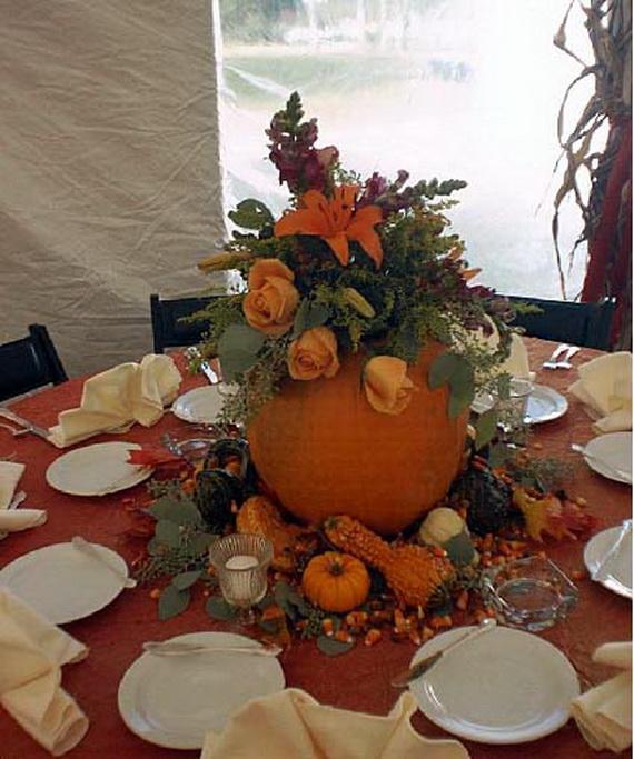 Halloween Wedding Centerpiece Ideas _51