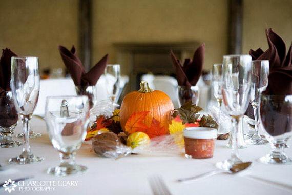 Halloween Wedding Centerpiece Ideas _54