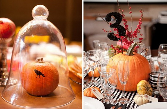 Halloween Wedding Centerpiece Ideas _58