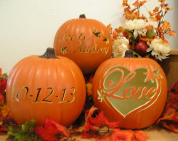 Halloween Wedding Centerpiece Ideas _59