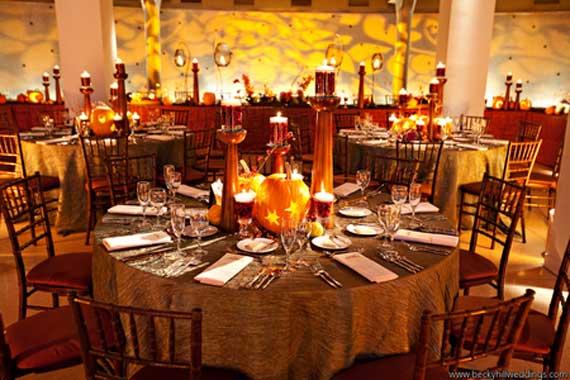 Halloween Wedding Centerpiece Ideas _63