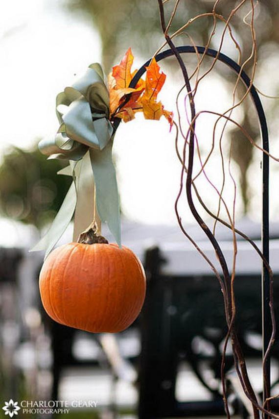 Halloween Wedding Centerpiece Ideas _74