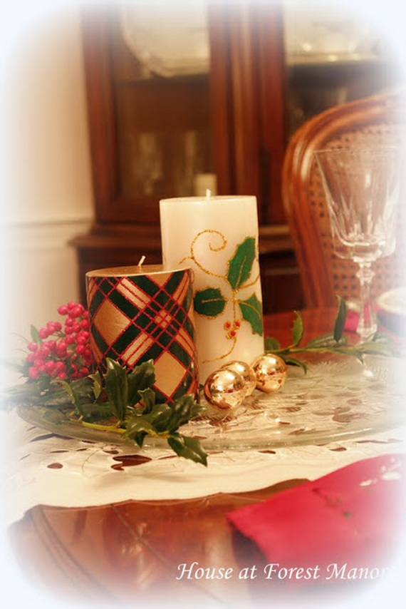 Simple and Easy Thanksgiving Centerpiece Ideas Using Candles_01