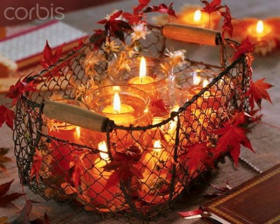 Simple and Easy Thanksgiving Centerpiece Ideas Using Candles_02
