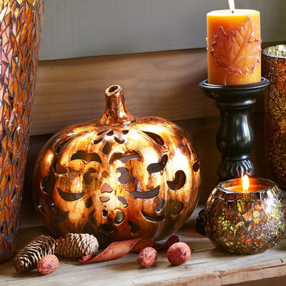 Simple and Easy Thanksgiving Centerpiece Ideas Using Candles_05