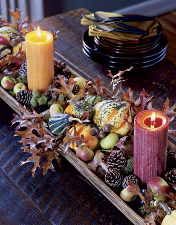 Simple and Easy Thanksgiving Centerpiece Ideas Using Candles_12