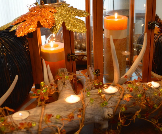 Simple and Easy Thanksgiving Centerpiece Ideas Using Candles_14