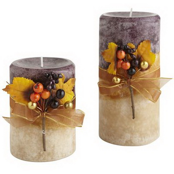 Simple and Easy Thanksgiving Centerpiece Ideas Using Candles_18