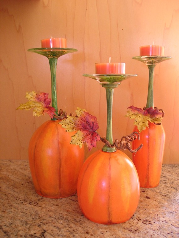 Simple and Easy Thanksgiving Centerpiece Ideas Using Candles_24