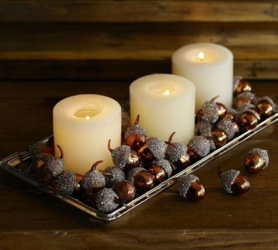 Simple and Easy Thanksgiving Centerpiece Ideas Using Candles_29
