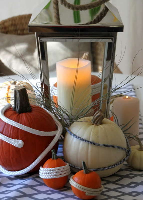 Simple and Easy Thanksgiving Centerpiece Ideas Using Candles_3