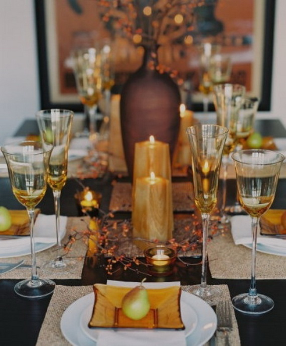 Simple and Easy Thanksgiving Centerpiece Ideas Using Candles_33