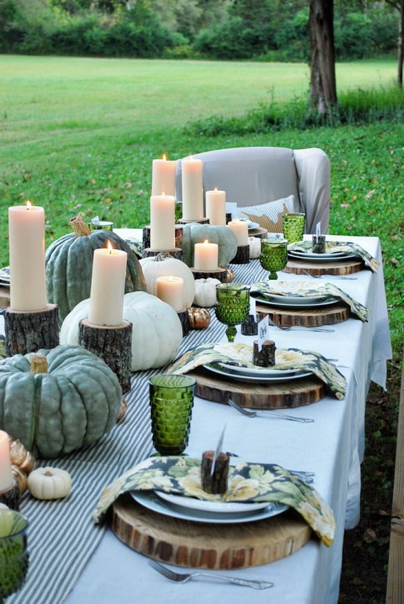 Simple and Easy Thanksgiving Centerpiece Ideas Using Candles_34
