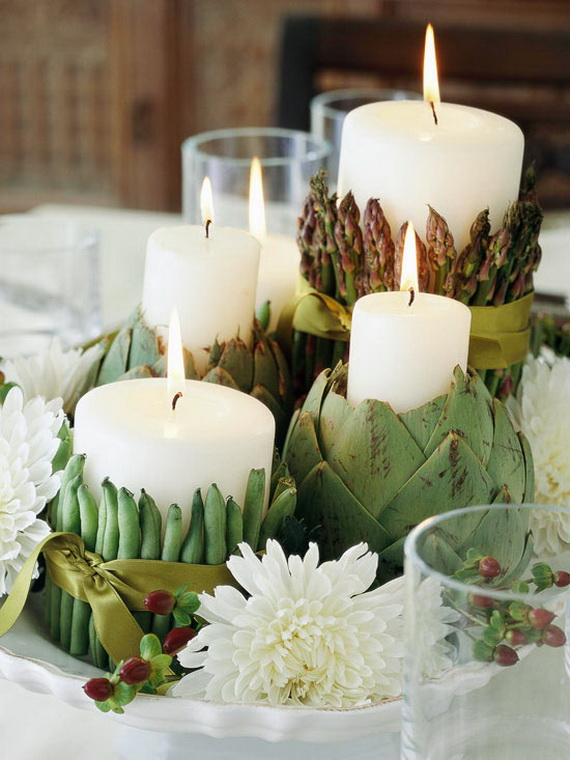 Simple and Easy Thanksgiving Centerpiece Ideas Using Candles_40