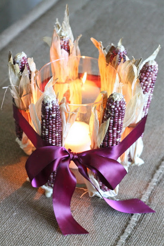 Simple and Easy Thanksgiving Centerpiece Ideas Using Candles_41