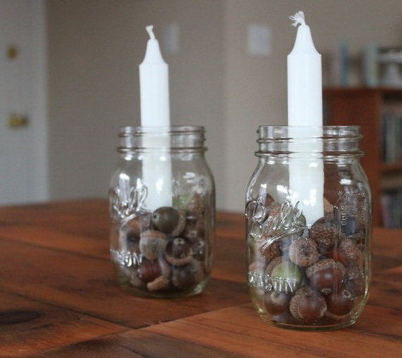 Simple and Easy Thanksgiving Centerpiece Ideas Using Candles_43