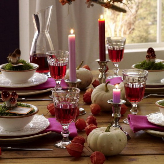 Simple and Easy Thanksgiving Centerpiece Ideas Using Candles_49
