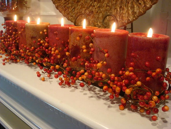 Simple and Easy Thanksgiving Centerpiece Ideas Using Candles_50