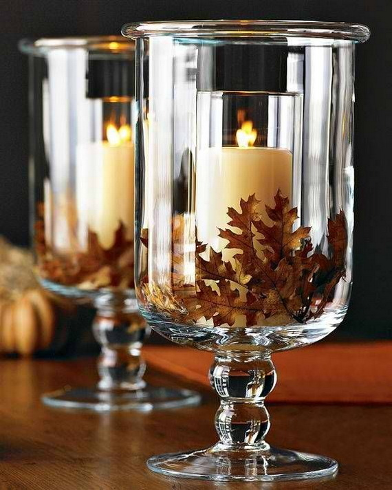 Simple and Easy Thanksgiving Centerpiece Ideas Using Candles_52