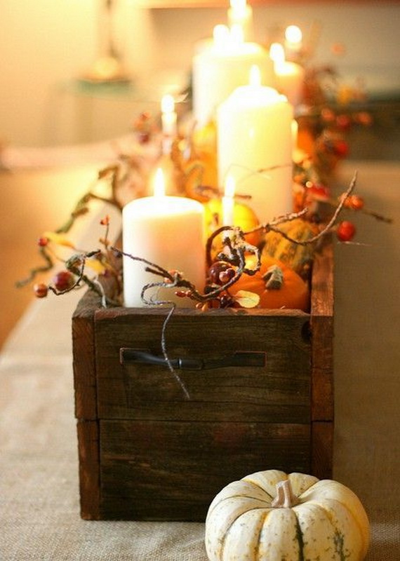 Simple and Easy Thanksgiving Centerpiece Ideas Using Candles_53