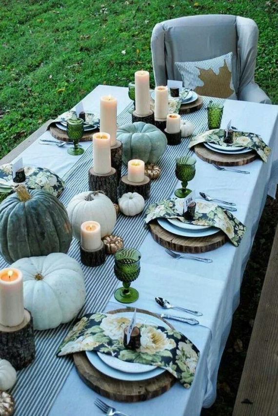 Simple and Easy Thanksgiving Centerpiece Ideas Using Candles_63