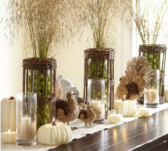 Simple and Easy Thanksgiving Centerpiece Ideas Using Candles_72