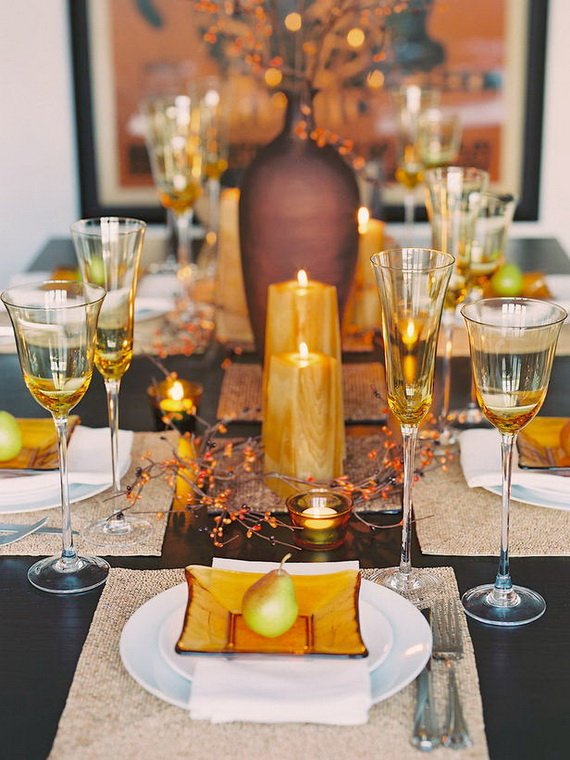 Simple and Easy Thanksgiving Centerpiece Ideas Using Candles_75