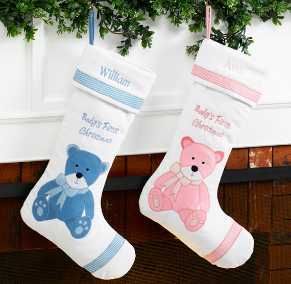 Splendid Christmas Stockings Ideas For Everyone_48