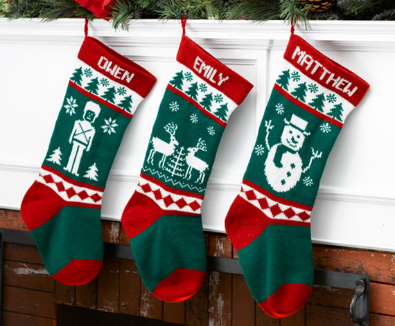Splendid Christmas Stockings Ideas For Everyone_59