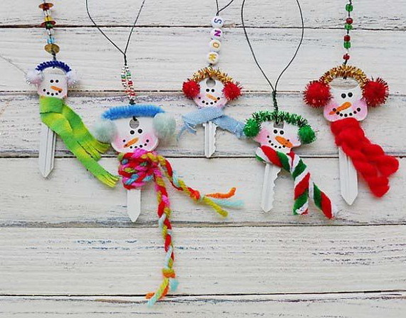 30 Easy Handmade Christmas craft and Decoration ideas for kids _22
