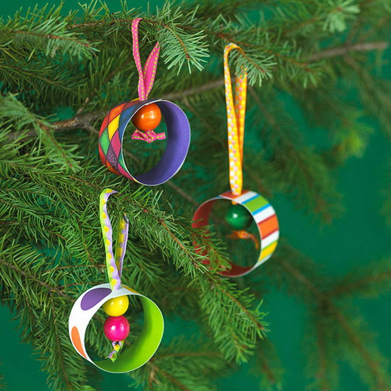30 Easy Handmade Christmas craft and Decoration ideas for kids _29