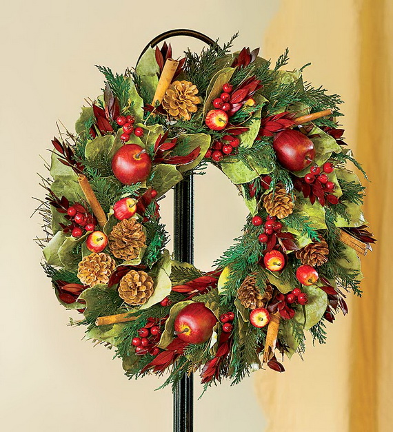 A Double-Duty Holiday Decor Ideas that Lasts Thanksgiving to Christmas_07