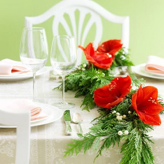 A Festive Christmas Table Decoration In Style_021