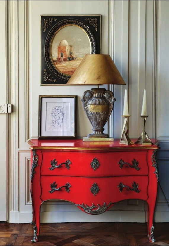 Amazing Red Interior Designs For The Holidays_15