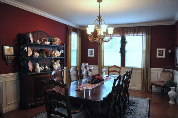 Amazing Red Interior Designs For The Holidays_41