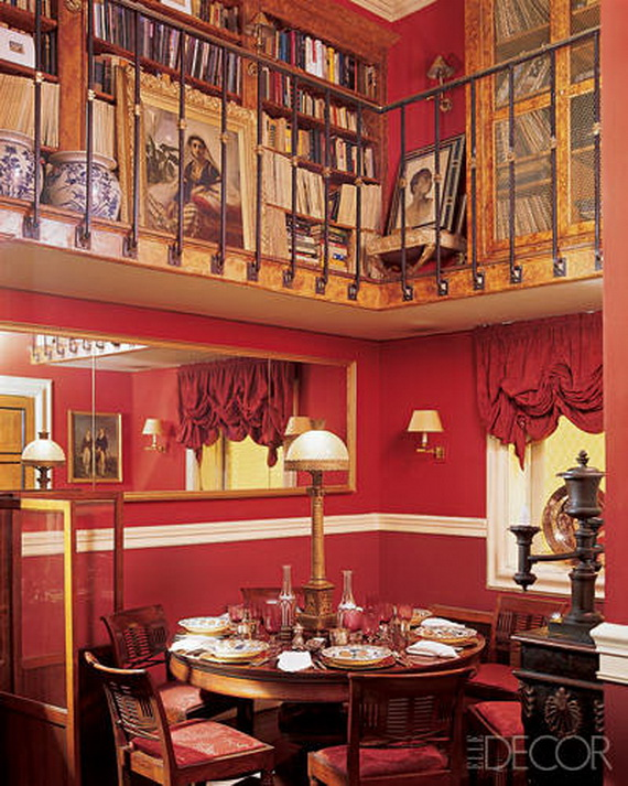 Amazing Red Interior Designs For The Holidays_56