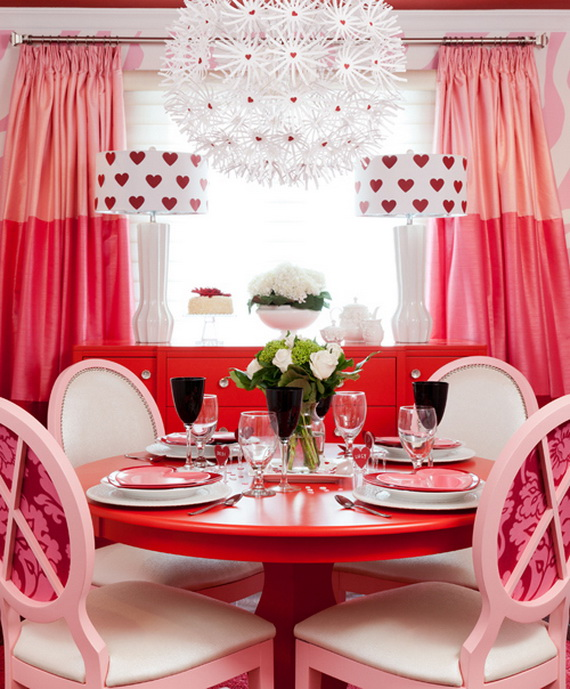 Amazing Red Interior Designs For The Holidays_66