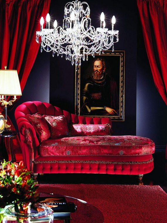 Amazing Red Interior Designs For The Holidays_68