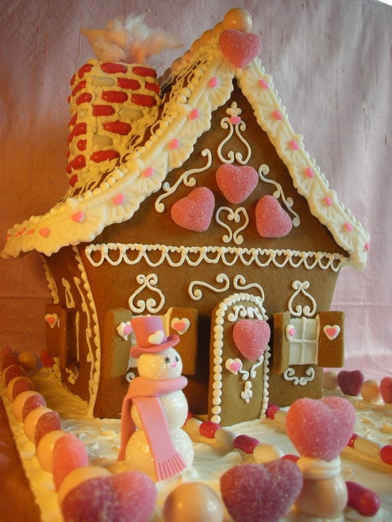 Amazing Traditional Christmas Gingerbread Houses_02