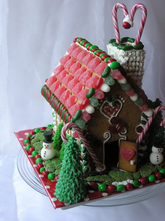 Amazing Traditional Christmas Gingerbread Houses_03