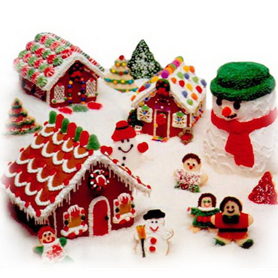 Amazing Traditional Christmas Gingerbread Houses_11