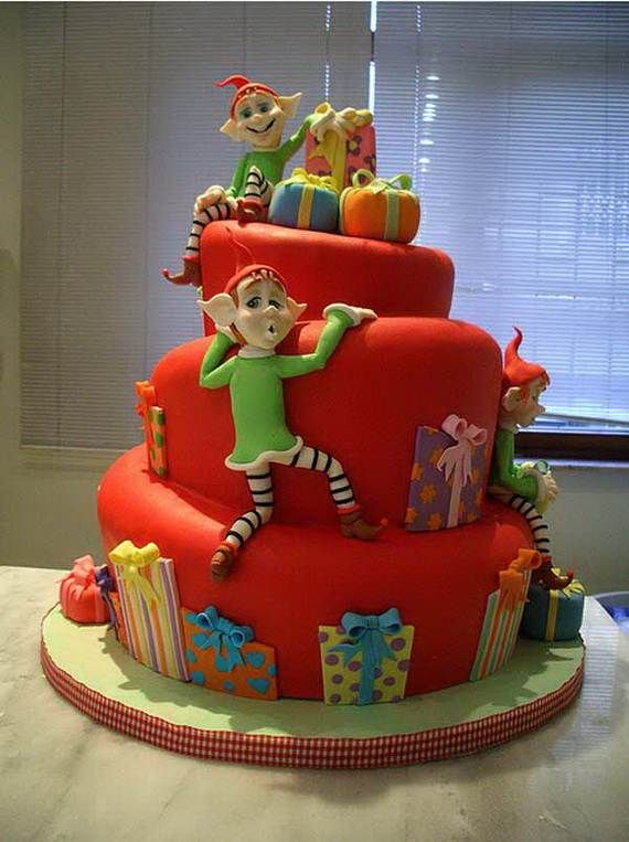 Awesome Christmas Cake Decorating Ideas 031