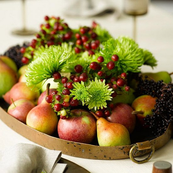 Beautiful Thanksgiving Fall Table Settings And Centerpiece Decor Ideas To Make _02