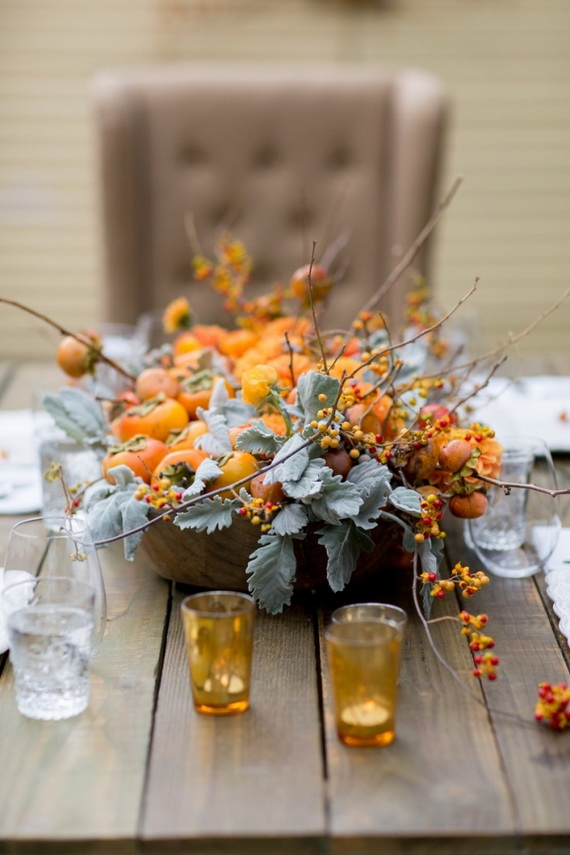 Beautiful Thanksgiving Fall Table Settings And Centerpiece Decor Ideas To Make _06